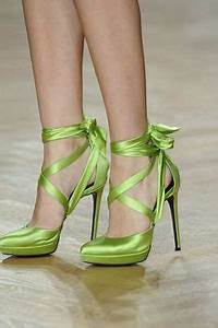 Lime Green Shoes on Pinterest