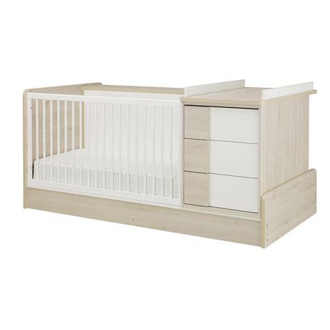 chambre bebe gautier sacha lit compact bébé 70x140 70x140 de galipette lits