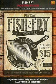 Best 25 ideas about fish fry flyer template find what youll love fish fry event flyer template saigontimesfo