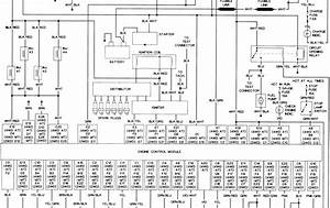 Scematic Diagram Panel  1992 Toyota Pickup Wiring Diagram