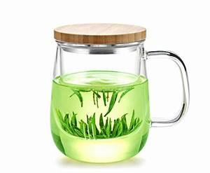 Mug Avec Infuseur : mug infuseur th avec couvercle en bois de bambou ~ Teatrodelosmanantiales.com Idées de Décoration