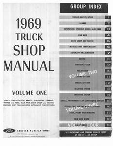 1969 Ford Truck Shop Manual