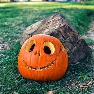 Happy, Pumpkin, Faces, Carving, Ideas