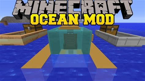 Minecraft Boat Houses Mod by Minecraft Mod Fast Boats Submarines And