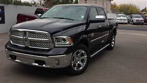2017 Black RAM 1500 Laramie - YouTube