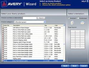 how to find a template in the avery wizard software for With avery templates and software
