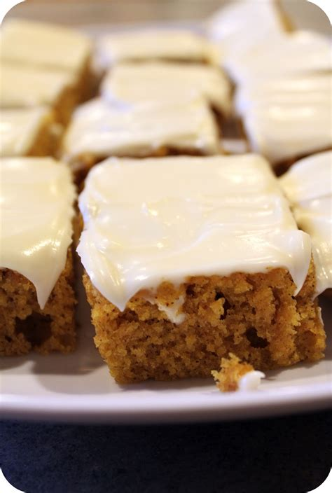 pumpkin bars the breadman s wife pumpkin bars