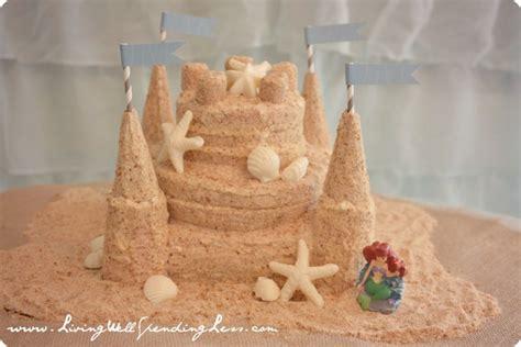 sandcastle cake fun family crafts