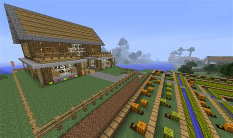 maison de luxe minecraft serveur 360