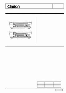 Clarion Max385vd Wiring Diagram
