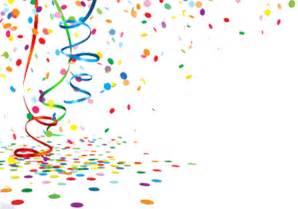 Transparent Confetti Streamers