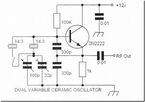 Radio Circuits Blog  Dual Variable Ceramic Resonator