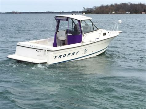 Used Trophy Boats Ontario trophy 2352 walkaround 1999 used boat for sale in