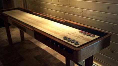 indoor shuffleboard game loccie  homes gardens ideas
