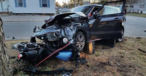 Beachwood Car-motorcycle Crash Hospitalizes One