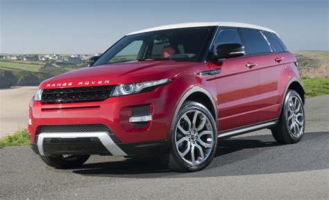red land rover 2015 range rover evoque luxury things