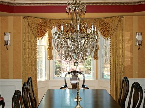 room chandelier lighting traditional formal gold dining room with
