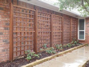 Outdoor Trellis Panels by Rectangular Garden Trellis Panel Outdoor Wooden Screen