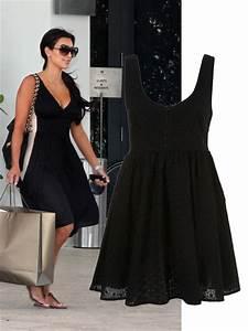 people la robe noire de kim kardashian cosmopolitanfr With robe de kim kardashian