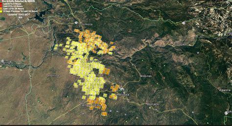 updates  detwiler wildfire  mariposa county