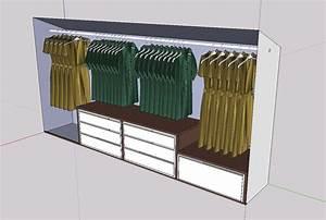 Kleiderschrank Ohne Türen : kleiderschrank in dachschr ge frau holz ~ Frokenaadalensverden.com Haus und Dekorationen