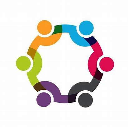 Social Business Clip Network Teamwork Concept National