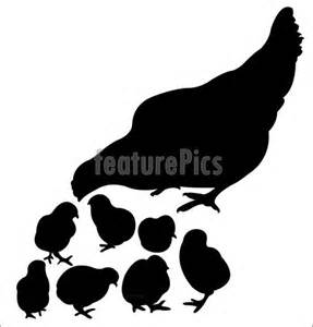 Chicken Silhouette Clip Art Free