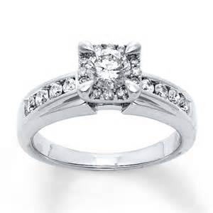 jared jewelry engagement rings jared engagement ring 7 8 ct tw cut 14k white gold