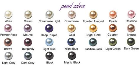 pearl colors crystallized swarovski pearl colors gemstone