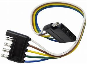12 U0026quot  Wire Harness - 5-way Flat Connector