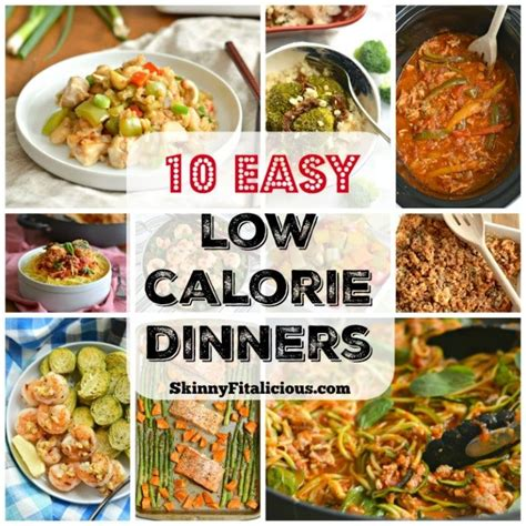 low dinner recipes 10 easy low calorie dinner recipes skinny fitalicious