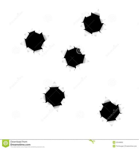 bullet holes royalty  stock photo image