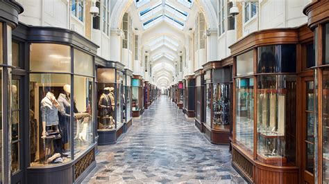 The Burlington Arcade Is A Place Where People With Stories Do Business.