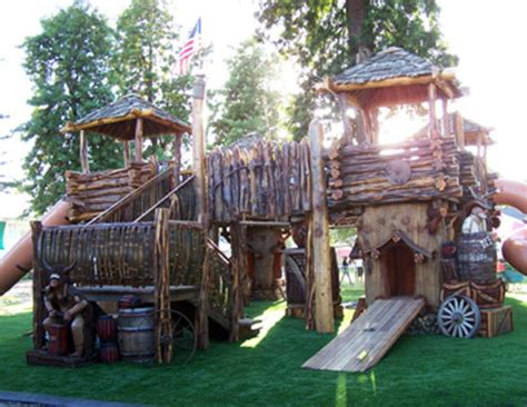 Tree House Ideas For Kids / Design Bookmark #
