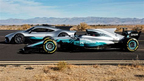 Lewis Hamilton Drives The Mercedes-amg Project One