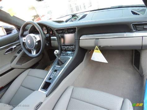 porsche agate grey interior 2013 porsche 911 carrera s coupe agate grey pebble grey