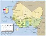 List of West African countries and their capitals YEN.COM.GH