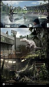 Check out 'Jurassic World' concept art by Gadget-Bot ...