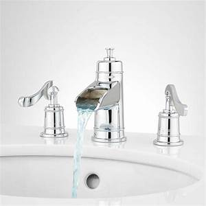 melton widespread waterfall bathroom faucet bathroom With is bathroom tap water drinking water