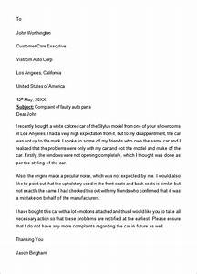 complaint letter 16 download free documents in word pdf With formal letter of complaint to employer template