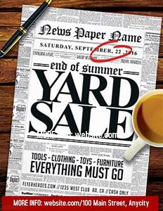 Yard Sale template PosterMyWall