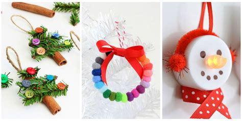 unique diy christmas ornaments easy homemade ornament