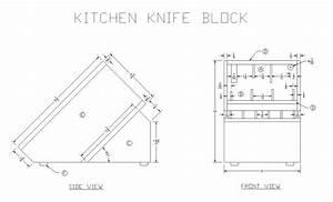 Knife Rack Plans - Houses Plans - Designs