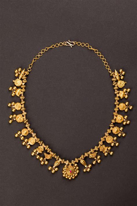central india maharashtra gold wedding necklace