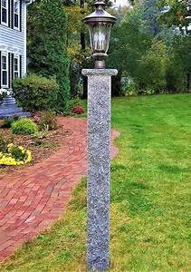 classy, granite, lamp, posts