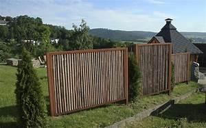 Bambus Sichtschutz Mit Edelstahl : cortenstahl ~ Frokenaadalensverden.com Haus und Dekorationen