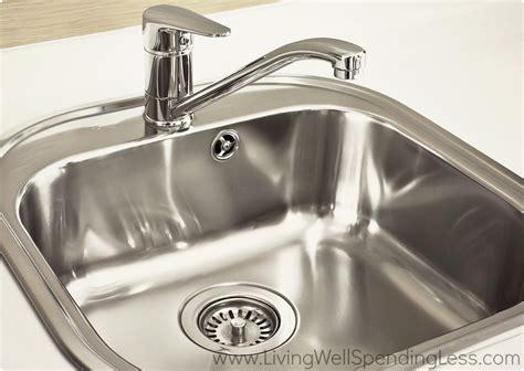 clean kitchen sink living  spending