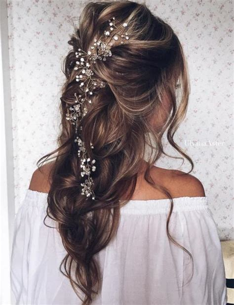 Wedding Half Updo Hairstyles by 40 Gorgeous Wedding Hairstyles For Hair