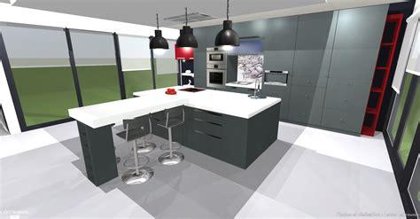 couleurs peinture cuisine plans 3d construction maison d 39 architecte atdeco côté