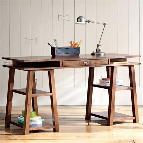 Customizeit Storage Trestle Desk  Pbteen. Night Tables Ikea. Baby Eating Table. Full Size Captain Beds With Drawers. Footrests For Under Desk. Realspace Magellan L-shaped Desk. Tropitone Tables. Wooden School Desk. Bamboo Drawer Organizers